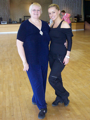 James and Old Jordan Strictly workshop Image 15